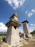The Harpy Monument, a Sarcophagus at the Lycian Site of Xanthos, Antalya Province, Anatolia, Turkey Photographic Print