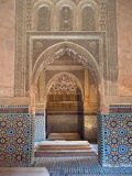 Saadian Tombs, Marrakech, Morocco, North Africa, Africa Photographic Print by Nico Tondini