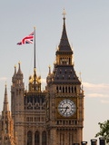 Houses of Parliament and Big Ben, Westminster, UNESCO World Heritage Site, London, England, Uk Photographic Print by Alan Copson