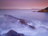 Sunset at Mellon Udrigle, Waves and Rocks, Wester Ross, North West Scotland, United Kingdom, Europe Photographic Print by Neale Clarke