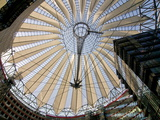 The Sony Center, Potsdamer Platz, Berlin, Germany, Europe Photographic Print by Michael Runkel