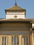 Detail of the Alcazar Entrance, Seville, Andalucia, Spain, Europe Photographic Print by Guy Thouvenin