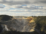 Limestone Quarry at Bungonia, New South Wales, Australia, Pacific Photographic Print by Jochen Schlenker