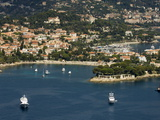 View From Helicopter of St. Jean Cap Ferrat, Alpes-Maritimes, Provence, France Photographic Print by Sergio Pitamitz