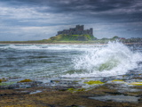 Bamburgh Castle, Northumberland, England, United Kingdom, Europe Photographic Print by Alan Copson