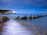 Seven Sisters Cliffs From Cuckmere Haven Beach, South Downs, East Sussex, England, United Kingdom Photographic Print by Alan Copson
