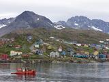 Fishing Boat, Ammassalik, Greenland, Arctic, Polar Regions Photographic Print by Thorsten Milse