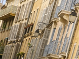 Typical Building Facade, Old Aix, Aix En Provence, Provence, France, Europe Photographic Print by Guy Thouvenin