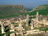 Ruins of the 4Th Century Synagogue at Arbel in the Galilee, Israel, Middle East Photographic Print