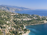 Cap Martin, Cote D'Azur, Alpes-Maritimes, Provence, French Riviera, France, Mediterranean, Europe Photographic Print by Sergio Pitamitz