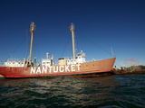 Nantucket Light Ship, Boston Harbour, Boston, Massachusetts, New England, USA Photographic Print