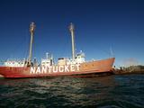 Nantucket Light Ship, Boston Harbour, Boston, Massachusetts, New England, USA Photographic Print