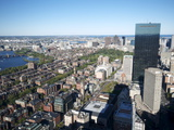 Aerial View of Boston From the Prudential Sky Walk, Boston, Massachusetts, New England, USA Photographic Print