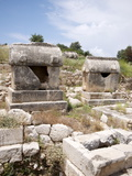 Sarcophagus at the Lycian Site of Patara, Near Kalkan, Antalya Province, Anatolia, Turkey Photographic Print