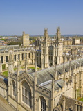 The Old Walls and Quadrangle of All Souls College, Oxford, Oxfordshire, England, Uk Photographic Print by Neale Clarke