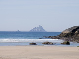 Ring of Kerry With the Skellig Rock in Distance, County Kerry, Munster, Republic of Ireland, Europe Photographic Print