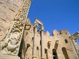 Severan Basilica, Leptis Magna, UNESCO World Heritage Site, Tripolitania, Libya, North Africa Photographic Print by Sergio Pitamitz