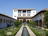 Generalife, Alhambra Palace, UNESCO World Heritage Site, Granada, Andalucia, Spain, Europe Photographic Print by Jeremy Lightfoot