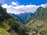 Mountain Scenery, Madeira, Portugal, Europe Photographic Print by Michael Runkel