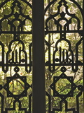 Wrought Iron Opening on to the Gardens of Reales Alcazares (Alcazar Palace Gardens), Seville Photographic Print by Guy Thouvenin