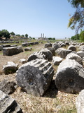 The Lycian Site of Letoon, UNESCO World Heritage Site, Antalya Province, Anatolia, Turkey Photographic Print