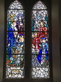 Stained Glass Windows By Harry Clarke, Diseart Institute of Education and Celtic Culture Photographic Print