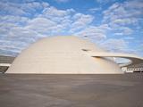 Cultural Complex of the Republic, National Museum, Brasilia, Distrito Federal-Brasilia, Brazil Fotografiskt tryck av Jane Sweeney