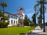 County Courthouse, Santa Barbara, California, USA Photographic Print by Alan Copson