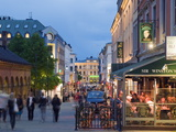 Karl Johans Gate, Pedestrianised Street in the City Center, Oslo, Norway, Scandinavia, Europe Photographic Print by Christian Kober