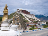 The Potala Palace Former Chief Residence of the Dalai Lama, Lhasa, Tibet, China, Asia Photographic Print by Michael Runkel
