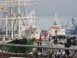 Port of Hamburg on the Elbe River, Hamburg, Germany, Europe Photographic Print by Christian Kober