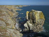 Stack Rocks, Pembrokeshire Coast National Park, Wales, United Kingdom, Europe Photographic Print by Peter Barritt