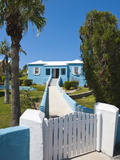 House in St. George'S, Bermuda, Central America Photographic Print by Michael DeFreitas