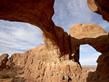 Double Arch, Arches National Park, Utah, United States of America, North America Photographic Print by James Hager
