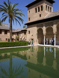 Ladies Tower, Partal Palace, Alhambra Palace, UNESCO World Heritage Site, Granada, Andalucia, Spain Photographic Print by Jeremy Lightfoot