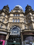 Facade of Leeds Markets, Leeds, West Yorkshire, England, Uk Photographic Print by Peter Richardson