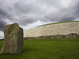 Ancient Burial Mound, Newgrange, County Meath, Republic of Ireland (Eire) Photographic Print by Jean Brooks