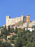 Roquebrune, Cote D'Azur, Alpes-Maritimes, Provence, France, Mediterranean, Europe Photographic Print by Sergio Pitamitz