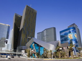 The Crystals Shopping Mall at Citycenter, Las Vegas, Nevada Photographic Print by Richard Cummins