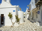 Parikia (Hora), Paros Island, Cyclades, Greek Islands, Greece, Europe Photographic Print