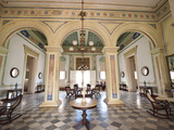 Interior of the Palacio Brunet, Houses Museo Romantico, Trinidad, Cuba, West Indies, Caribbean Photographic Print by Michael DeFreitas