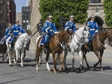 Mounted Military Band, Stockholm, Sweden, Scandinavia, Europe Photographic Print by James Emmerson