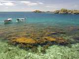Clear Waters Between Limestone Islands, Hundred Islands, Lingayen Gulf, Philippines Photographic Print by Tony Waltham