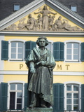 Statue of Ludwig Van Beethoven, Bonn, North Rhineland Westphalia, Germany Photographic Print by Christian Kober
