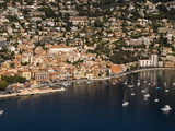 View From Helicopter of Villefranche, Alpes-Maritimes, French Riviera, France Photographic Print by Sergio Pitamitz