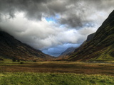 Glencoe, Highlands, Scotland, Uk Photographic Print by David Wogan