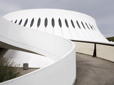 The Volcan Cultural Centre Designed By Oscar Niemeyer, Le Havre, Normandy, France, Europe Photographic Print by Richard Cummins
