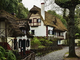 Traditional Madeira House, Queimadas, Madeira, Portugal, Atlantic Ocean, Europe Photographic Print by Jochen Schlenker
