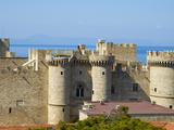 Grand Master's Palace, City of Rhodes, Rhodes, Dodecanese, Greek Islands, Greece Photographic Print