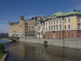 Waterside Buildings at Stromgatan, Stockholm, Sweden, Scandinavia, Europe Photographic Print by James Emmerson